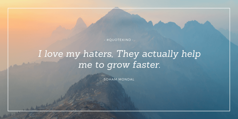 50 Quotes About Haters Quote Kind