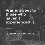 Quotes About War