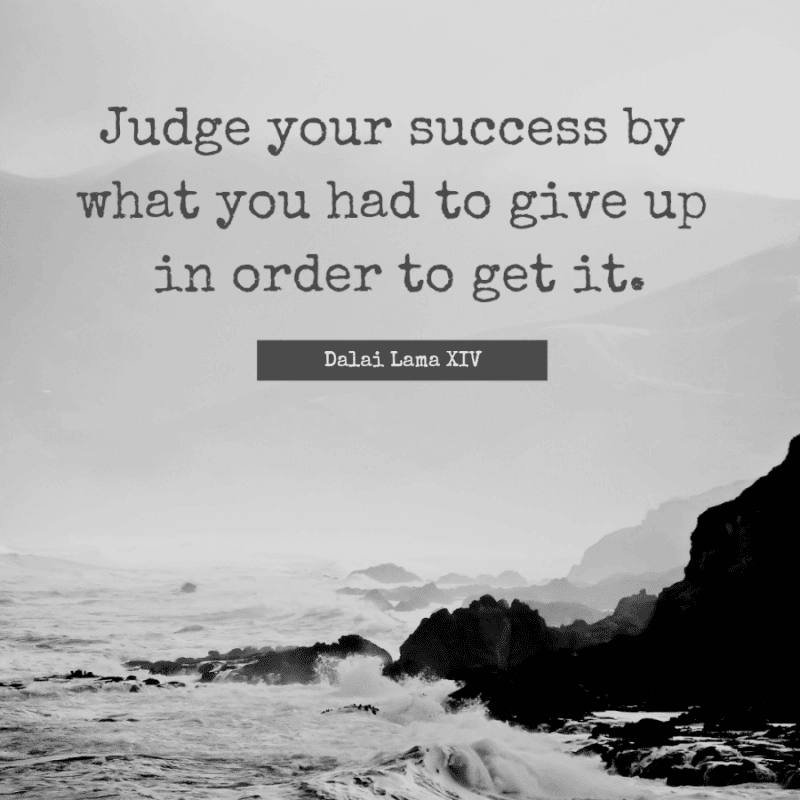 dalai lama success quote
