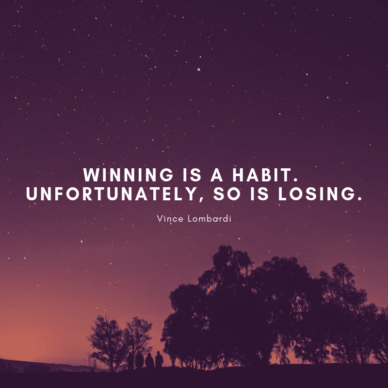 quotes about winning, success and failure