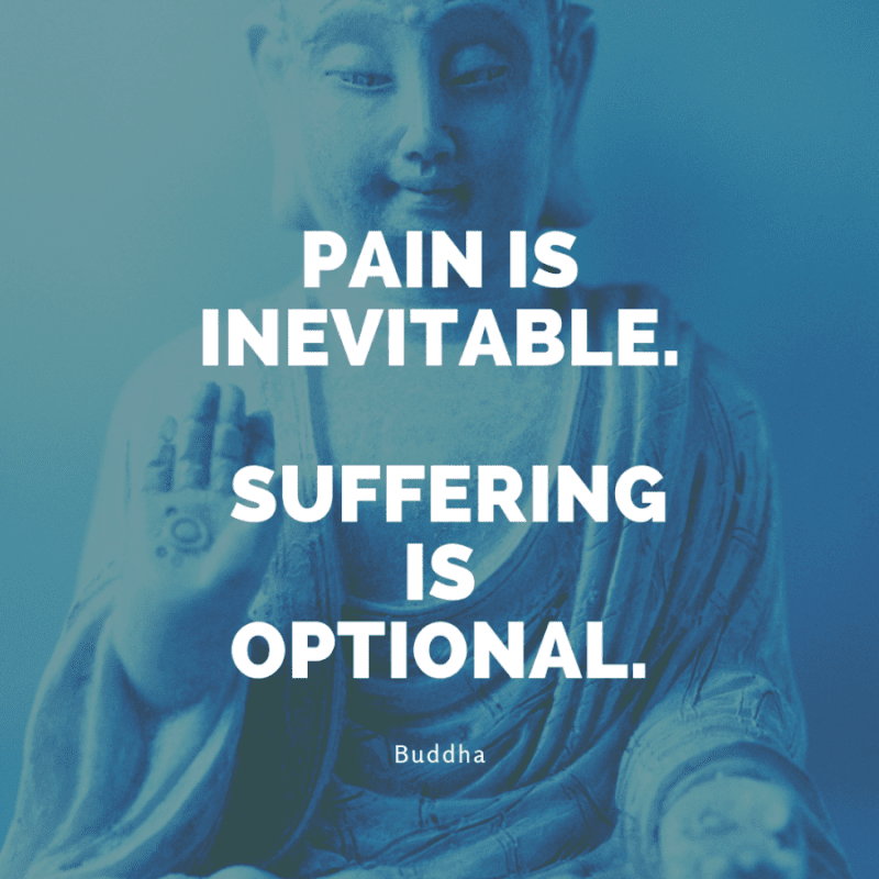 Pain is inevitable. Suffering is optional. - 99+ Worth Reading Quotes When You Getting Through Tough Times