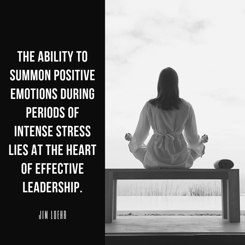The ability to summon positive emotions during periods of intense stress lies at the heart of effective leadership. - 62 Motivating Quotes About Leadership and Teamwork for a Better Collaboration