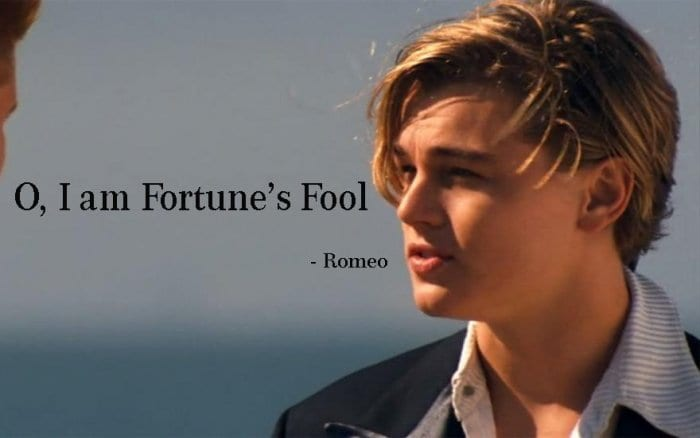 6 - 35+ Romeo and Juliet Quotes About Fate, Tragic and Sadness