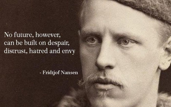 gambar - 14 Fridtjof Nansen Quotes to Make Us Stay Persistent