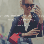 Act your way into relevance. Dont ask your way into relevancy. - 32 Classy Quotes Ideas And Perfect For Independent