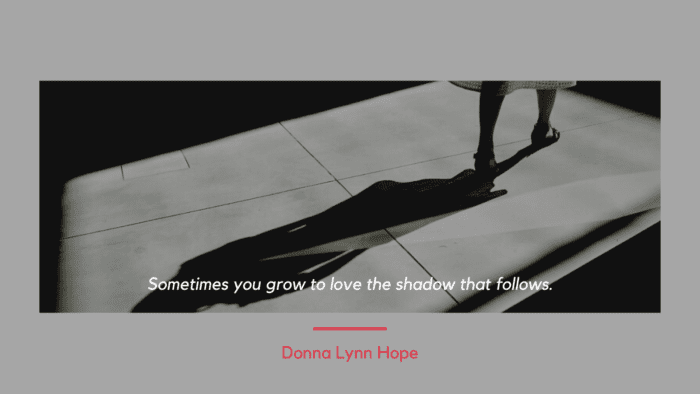 Sometimes you grow to love the shadow that follows. - 26 One Sided Love Quotes | Ideas And Inspirational For Boys And Girls