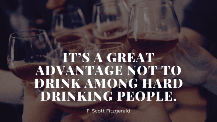 Its a great advantage not to drink among hard drinking people. - 50 Alcohol Quotes to Show You How Bad Alcohol for Your Life