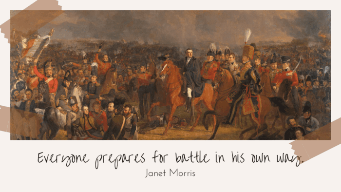 Everyone prepares for battle in his own way. - 45 Quotes About Battles | Inspiration Quotes