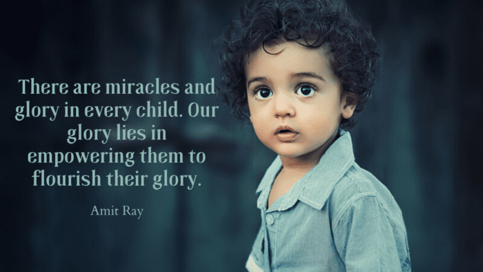 There are miracles and glory in every child. Our glory lies in empowering them to flourish their glory. - 50 Empowerment Quotes to Get Better Life