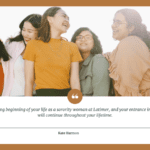 The day is the exciting beginning of your life as a sorority woman at Latimer and your entrance into a sisterhood that will continue throughout your lifetime. - 24 Sorority Sister Quotes to show You a Good Comunity